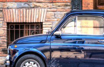 Auto Mini Retro Side View Wallpaper 1440x2560 340x220