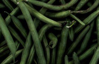 Beans Pods Green Wallpaper 1440x2560 340x220