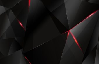 Black And Red Abstract Wallpaper 04 1920x1200 340x220