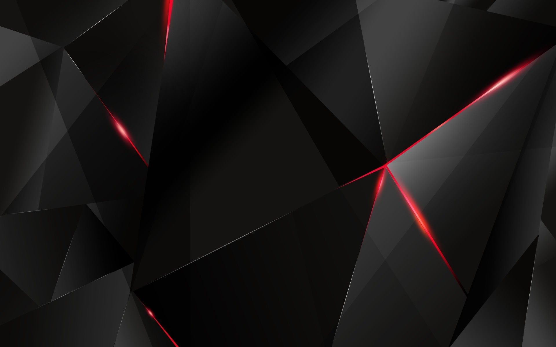 Black And Red Abstract Wallpaper 04