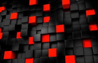 Black And Red Abstract Wallpaper 09 1920x1080 340x220