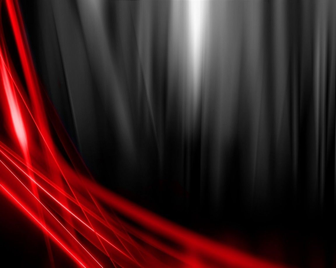 Black And Red Abstract Wallpaper 16