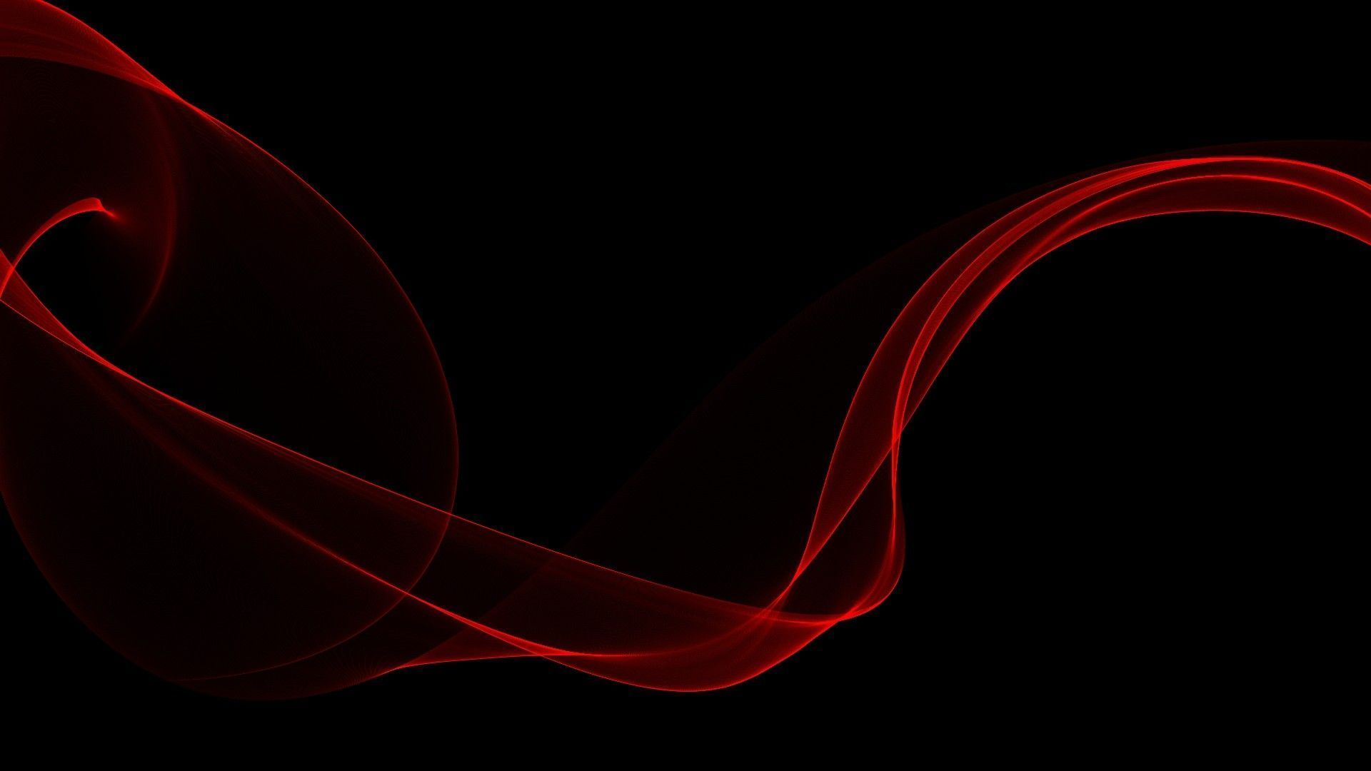 Xiaomi Redmi Note 5 Pro Wallpaper With Abstract Blue Light: Black And Red Abstract Wallpaper 19