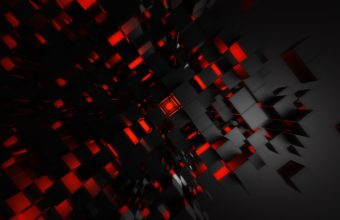 Black And Red Abstract Wallpaper 21 1920x1080 340x220