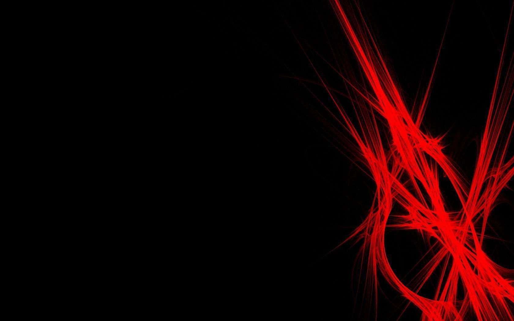Black And Red Abstract Wallpaper 24 - [1680x1050]