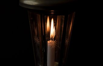 Candle Night Lamp Wallpaper 1440x2560 340x220