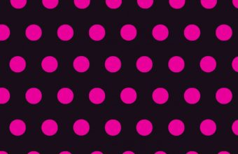 Circles Art Pink Black Wallpaper 1440x2560 340x220