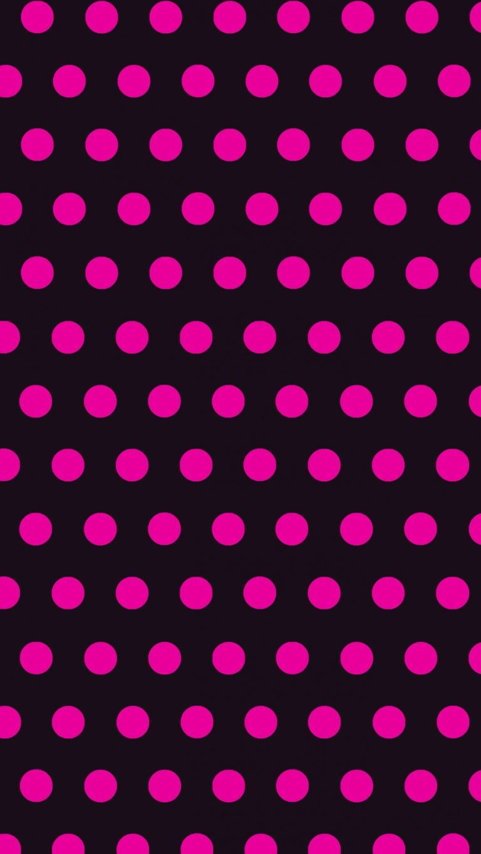 Circles Art Pink Black Wallpaper 1440x2560 768x1365