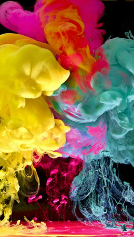 Cool Colorful Smoke Wallpaper