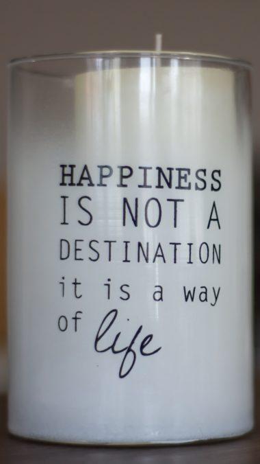 Inscription Motivation Candle Wallpaper 1440x2560 380x676