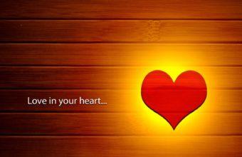 Love Heart Wallpaper 02 1680x1050 340x220