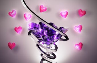 Love Heart Wallpaper 37 1920x1200 340x220