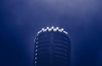 Microphone Smoke Blackout Wallpaper 1440x2560 340x220