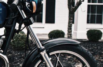 Motorcycle Rudder Wheel Side View Wallpaper 1440x2560 340x220