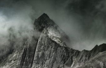 Mountains Fog Summit Wallpaper 1440x2560 340x220