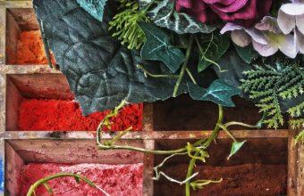 Paints Pigments Bouquet Wallpaper 1440x2560 340x220
