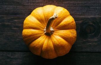 Pumpkin Floor Wooden Shadow Wallpaper 1440x2560 340x220