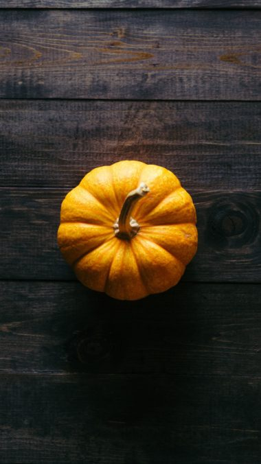 Pumpkin Floor Wooden Shadow Wallpaper 1440x2560 380x676
