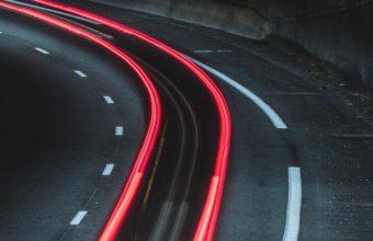 Road Marking Light Turn Wallpaper 1440x2560 340x220