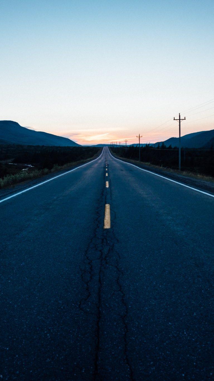 Road Marking Movement Wallpaper 1440x2560 768x1365