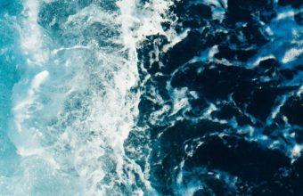 Sea Foam Surf Wallpaper 1440x2560 340x220