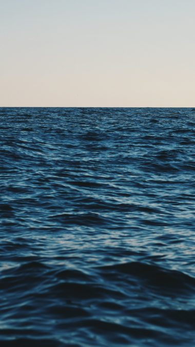 Sea Horizon Sky Wallpaper 1440x2560 380x676