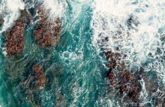 Sea Surf Shore Wallpaper 1440x2560 340x220