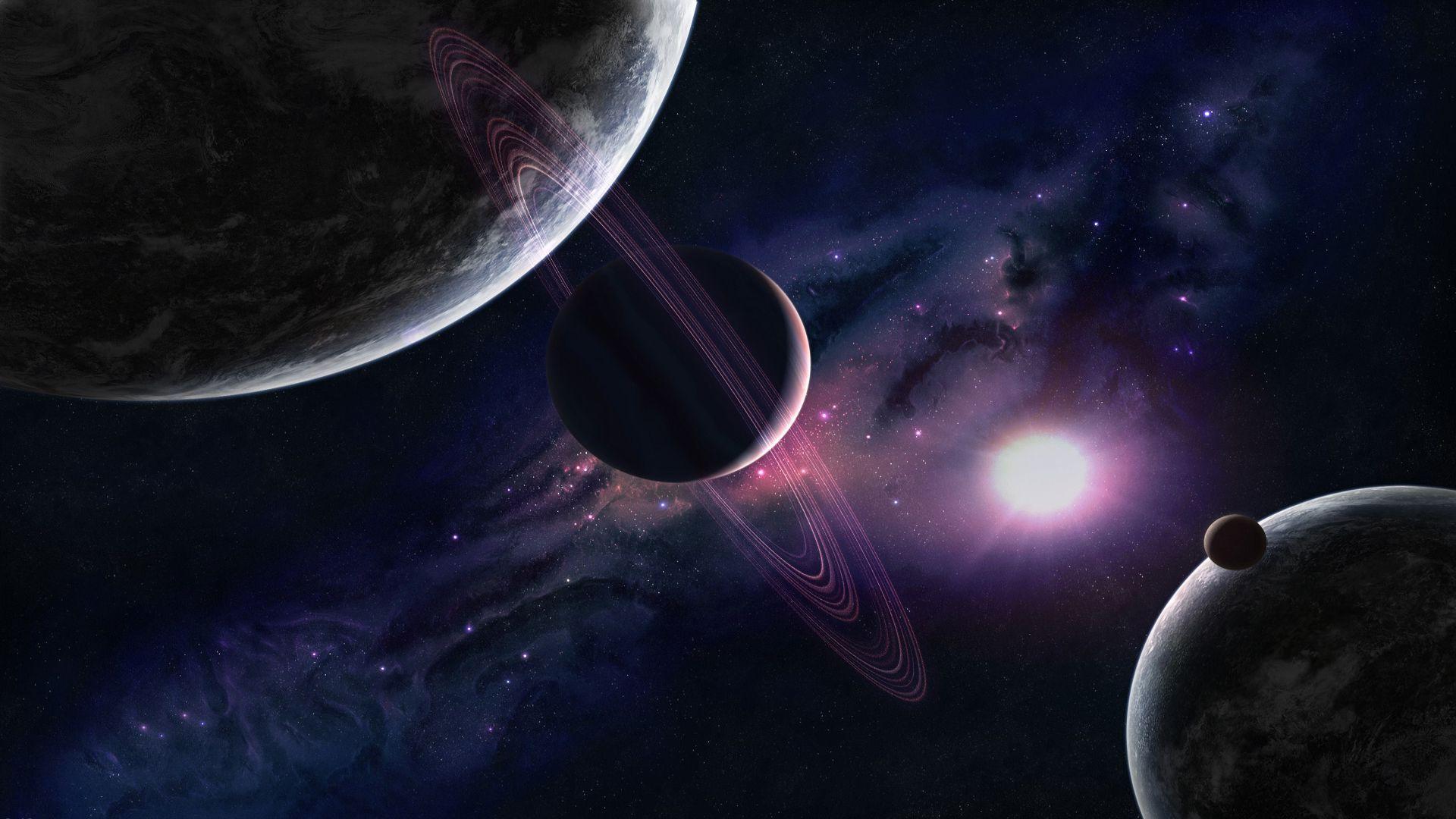 solar system wallpaper 19 - [1920x1080]