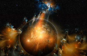 Solar System Wallpaper 23 1366x768 340x220