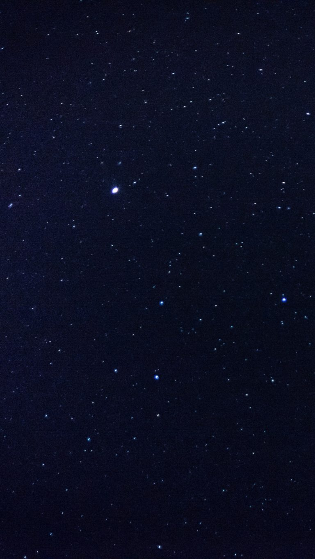 Starry Sky Stars Space Wallpaper 1440x2560 768x1365
