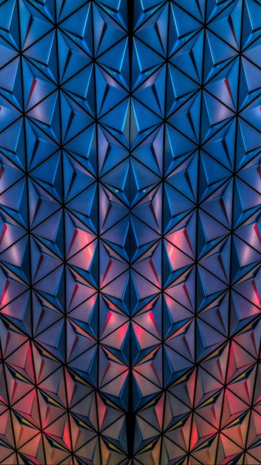 Surface Shape Light Wallpaper 1440x2560 380x676