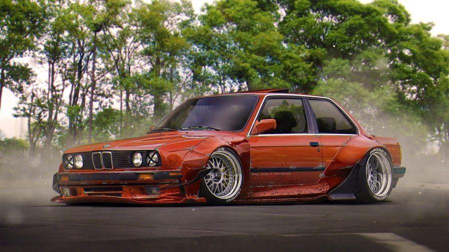 BMW E30 Wallpaper 12