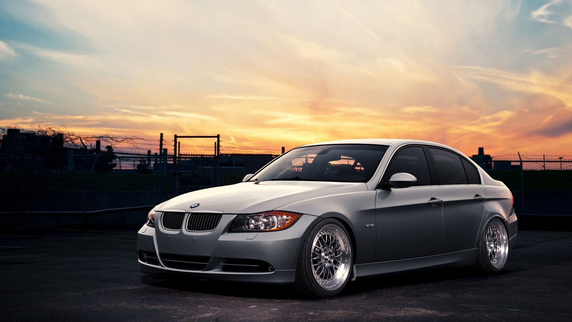 BMW E90 Wallpaper 01 - [1920x1080]