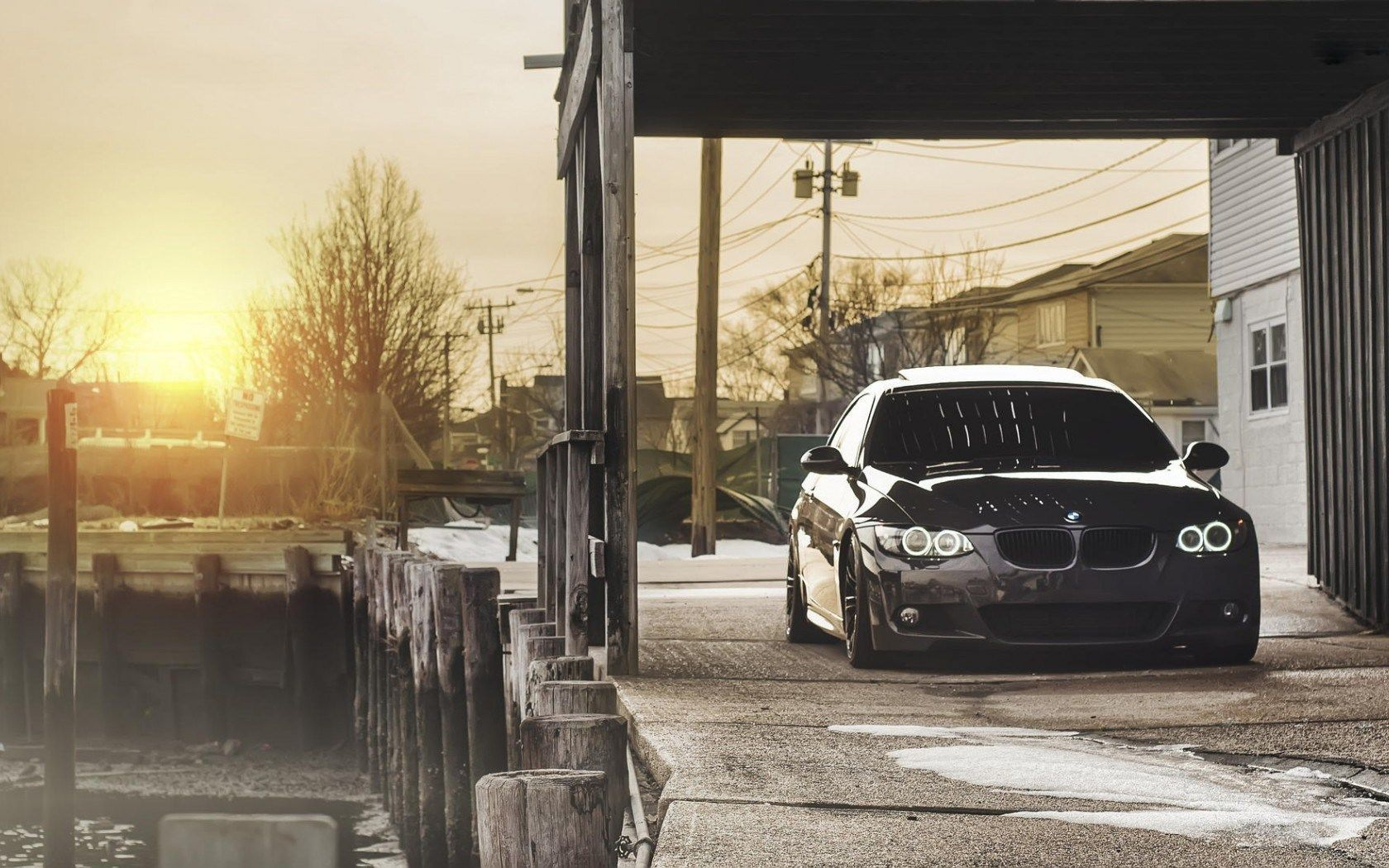 Bmw E90 Wallpaper 05 1680x1050