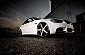 BMW E90 Wallpaper 34 1366x768 340x220