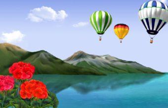 Balloon Wallpaper 22 1920x1200 340x220
