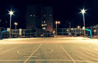 Basketball Court Wallpaper 02 1920x1080 340x220