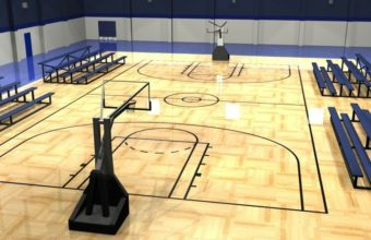 Basketball Court Wallpaper 17 800x600 340x220