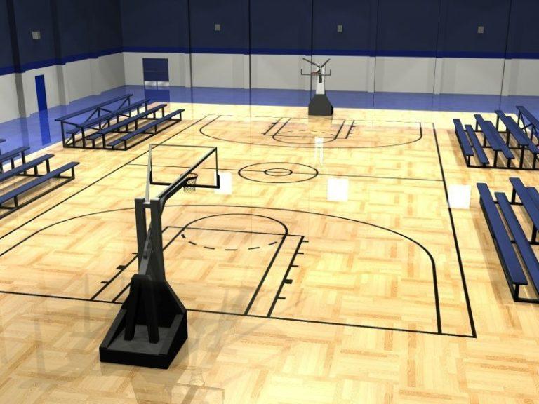 Basketball Court Wallpaper 17 800x600 768x576