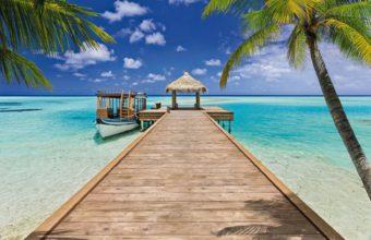 Beach Resort Wallpaper 03 1650x1130 340x220