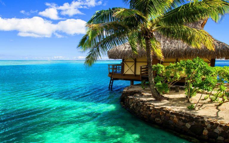 Beach Resort Wallpaper 08 1280x800 768x480