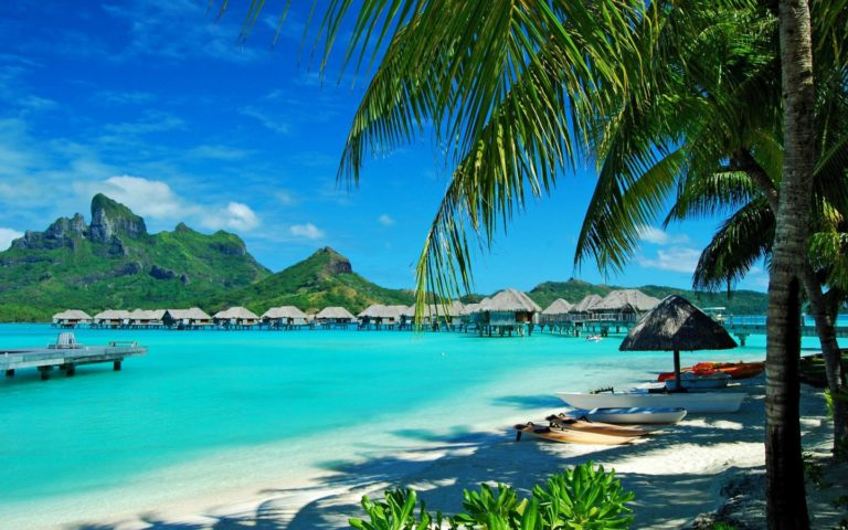 Beach Resort Wallpaper 11 1440x900 768x480