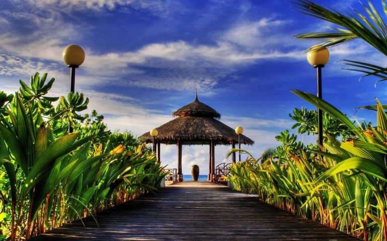 Beach Resort Wallpaper 34 2880x1800 768x480