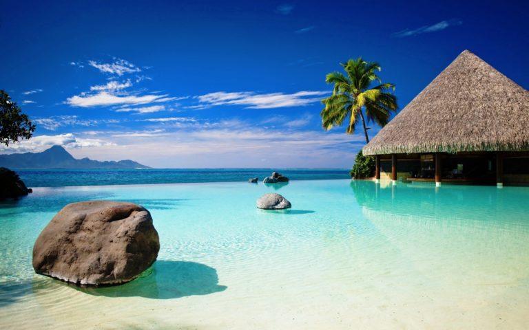 Beach Resort Wallpaper 39 2560x1600 768x480