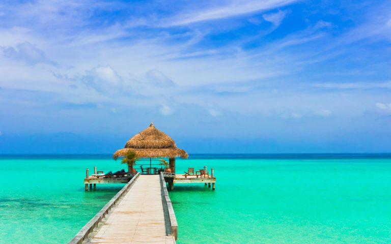 Beach Resort Wallpaper 47 2560x1600 768x480