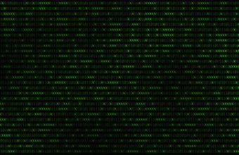 Binary Code Wallpaper 02 1680x1050 340x220
