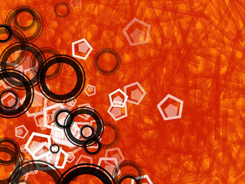 Black And Orange Wallpaper 14