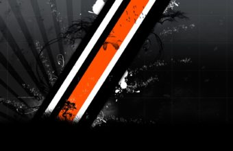 Black And Orange Wallpaper 23 1680x1050 340x220