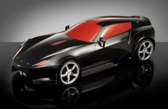 Black Ferrari Car Wallpaper 01 1920x1200 340x220
