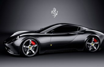 Black Ferrari Car Wallpaper 03 2560x1600 340x220